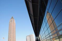 Edifici per uffici, Francoforte Immagini Stock