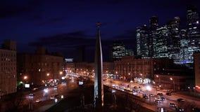 Edifici per uffici in grattacieli stock footage