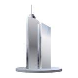 Edifici per uffici isolati Immagine Stock