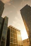Edifici per uffici a Londra Immagine Stock Libera da Diritti