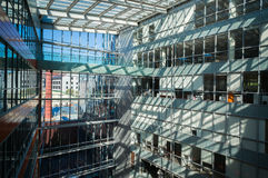 Edifici per uffici moderni Immagine Stock