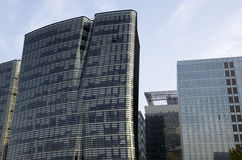 Edifici per uffici moderni di architettura Immagine Stock