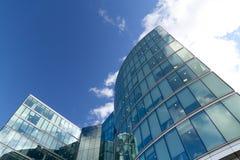 Edifici per uffici moderni, Londra Fotografia Stock Libera da Diritti