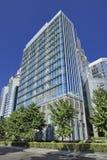 Edifici per uffici moderni sulla via finanziaria, Pechino, Cina Fotografie Stock Libere da Diritti