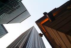 Edifici per uffici a New York Immagini Stock Libere da Diritti