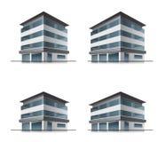 Edifici per uffici o dell'hotel Fotografia Stock Libera da Diritti