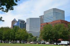 Edifici per uffici a Portland, Oregon fotografie stock