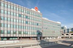 Edifici per uffici sulla via di Geroldstrasse a Zurigo Fotografia Stock Libera da Diritti