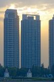 Edifici residenziali Immagine Stock