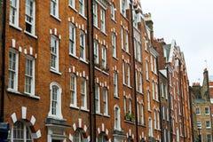 Edifici residenziali Fotografia Stock