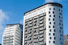 Edifici residenziali Immagini Stock Libere da Diritti