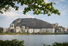 Edifici residenziali in Ipanema, Rio de Janeiro Fotografia Stock Libera da Diritti
