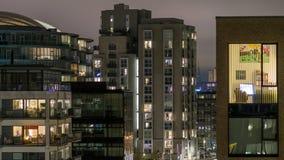 Edifici residenziali moderni Fotografia Stock Libera da Diritti