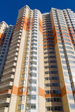 Edifici residenziali a più piani moderni Fotografie Stock
