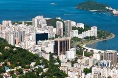 Edifici residenziali in Rio de Janeiro Immagine Stock Libera da Diritti