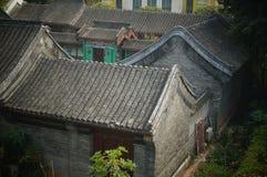 Edifici residenziali tradizionali cinesi Fotografia Stock Libera da Diritti