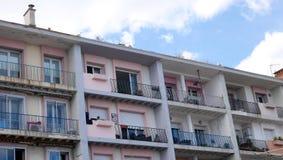 edificio 1960Â's fotografía de archivo