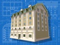 Edificio. Imagen de archivo libre de regalías