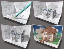 Edificio. stock de ilustración