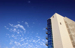 EDIFICIO. To modern buildings with the serene sky Stock Photography