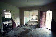 Edificio abandonado Fotografía de archivo libre de regalías