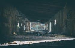 Edificio abandonado Foto de archivo