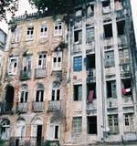 Edificio abandonado Fotos de archivo libres de regalías