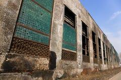 Edificio abandonado de la fábrica Imágenes de archivo libres de regalías