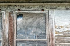 Edificio abandonado de Luisiana Fotografía de archivo