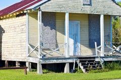 Edificio abandonado de Luisiana Imagenes de archivo