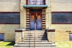 Edificio abandonado - decadencia urbana Fotografía de archivo