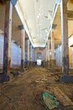 Edificio abandonado del almacén Fotos de archivo libres de regalías