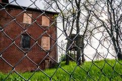 Edificio abandonado del campo Fotos de archivo