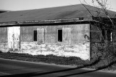 Edificio abandonado del pantano Fotos de archivo