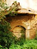 Edificio abandonado en Jajce Foto de archivo libre de regalías