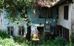 Edificio abandonado en Travnik 1 Foto de archivo