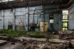 Edificio abandonado viejo Foto de archivo