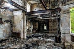 Edificio abandonado viejo Imagenes de archivo