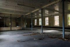 Edificio abandonado viejo Imagen de archivo libre de regalías