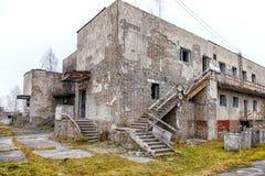 Edificio abandonado viejo Fotos de archivo libres de regalías
