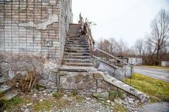 Edificio abandonado viejo Foto de archivo libre de regalías
