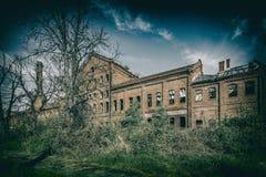 Edificio abandonado y olvidado Fotos de archivo libres de regalías