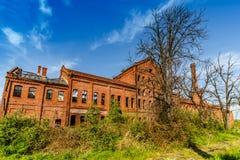 Edificio abandonado y olvidado Imagen de archivo