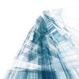 Edificio abstracto Imágenes de archivo libres de regalías