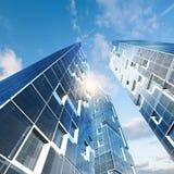 Edificio abstracto ilustración del vector