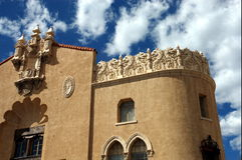 Edificio adornado Fotos de archivo