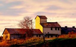Edificio agrícola viejo Foto de archivo