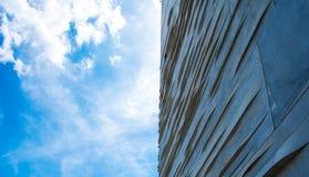 Edificio al cielo Imágenes de archivo libres de regalías