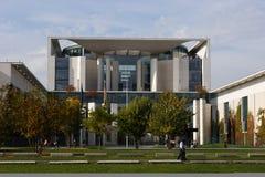 Edificio alemán Berlín de la cancillería Imagen de archivo libre de regalías
