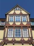 Edificio alemán viejo Fotografía de archivo